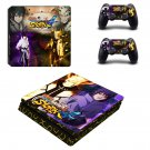 Naruto Play Station 4 slim skin decal for console and 2 controllers