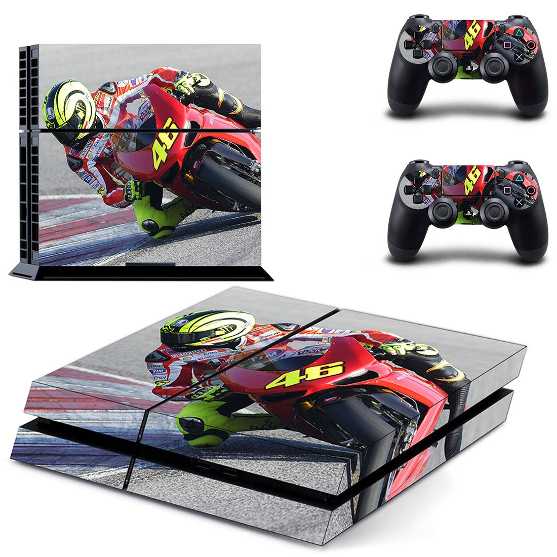 Bike Race ps4 skin decal for console and controllers