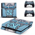 Tar heels North Carolina ps4 skin decal for console and controllers