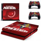 Florida Panthers ps4 skin decal for console and controllers