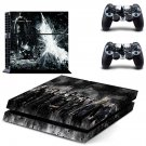 The Dark Knight Rises ps4 skin decal for console and controllers