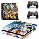 Dragon Ball ps4 skin decal for console and controllers