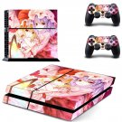 Anime Girls ps4 skin decal for console and controllers