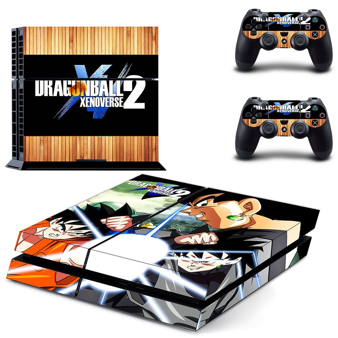 Dragon Ball Xenoverse ps4 skin decal for console and controllers