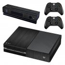 Black Wooden board skin decal for Xbox one console and controllers