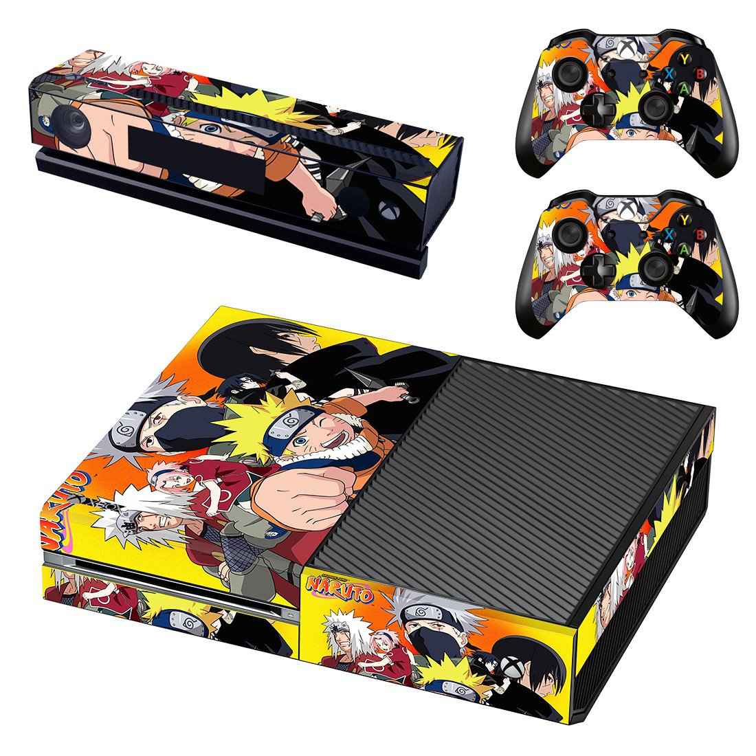 Uzumaki Naruto skin decal for Xbox one console and controllers