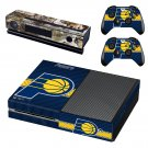 Indiana Pacers skin decal for Xbox one console and controllers