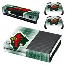 Minnesota Wild skin decal for Xbox one console and controllers