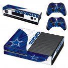 Dallas Cowboys skin decal for Xbox one console and controllers