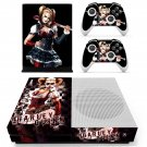 Harley Quinn skin decal for Xbox one S console and controllers