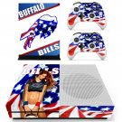 Buffalo Bills skin decal for Xbox one S console and controllers