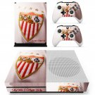 Sevilla Football Club skin decal for Xbox one S console and controllers