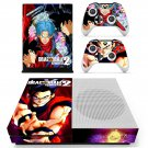 Dragon Ball Xenoverse skin decal for Xbox one S console and controllers