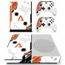 asiimov icon skin decal for Xbox one S console and controllers