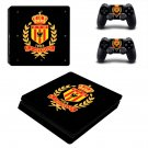 K.V Mechelen Play Station 4 slim skin decal for console and 2 controllers