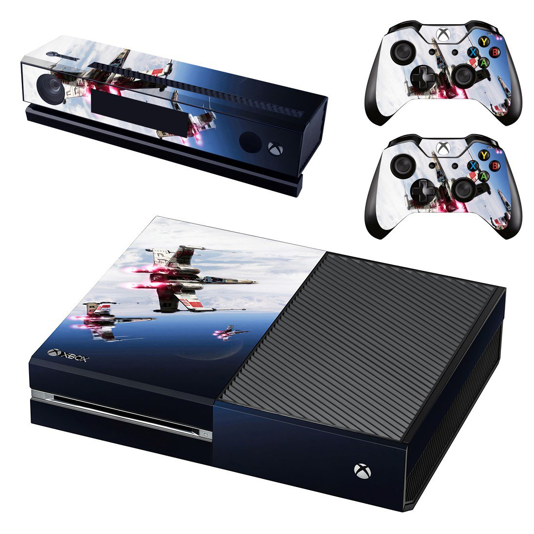 Aviation skin decal for Xbox one console and controllers
