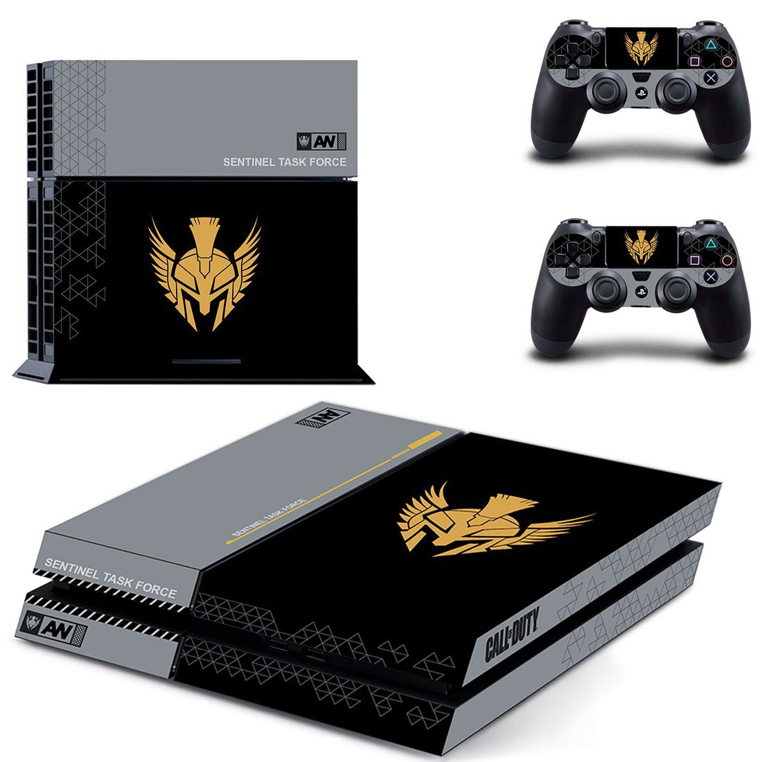Sentinel task force ps4 skin decal for console and controllers