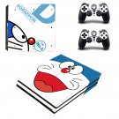 Doraemon ps4 pro skin decal for console and controllers