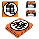Dragon Ball Super Z ps4 pro skin decal for console and controllers