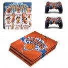 New York Knicks ps4 pro skin decal for console and controllers
