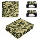 Army Dress ps4 pro skin decal for console and controllers