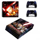 The Force Awakens ps4 pro skin decal for console and controllers