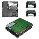 Laptop circuit ps4 pro skin decal for console and controllers