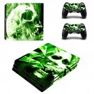 Smoky Skull ps4 pro skin decal for console and controllers