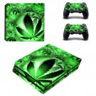Leaf in Waterdrop ps4 pro skin decal for console and controllers