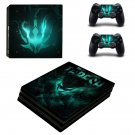 Thresh League of Legends champion ps4 pro skin decal for console and controllers