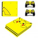 Yellow Cartoon ps4 pro skin decal for console and controllers