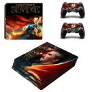 Doctor Strange ps4 pro skin decal for console and controllers