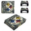 Pittsburgh Steelers ps4 pro skin decal for console and controllers