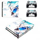 Hatsune Miku ps4 pro skin decal for console and controllers