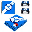 Pokémon Go Team Instinct ps4 pro skin decal for console and controllers