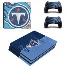 Tennessee Titans ps4 pro skin decal for console and controllers