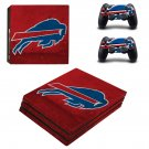 Buffalo Bills ps4 pro skin decal for console and controllers