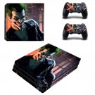 The Joker ps4 pro skin decal for console and controllers