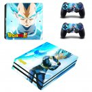 Dragon ball z super ps4 pro skin decal for console and controllers