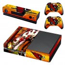 Arizaon Cardinals skin decal for Xbox one console and controllers