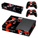 Harley Quinn Mad Love skin decal for Xbox one console and controllers