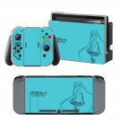 Hatsune Miku design vinyl decal for Nintendo switch console sticker skin