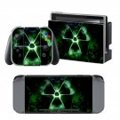 Toxic symbol design vinyl decal for Nintendo switch console sticker skin