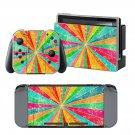 Cute Rainbow design vinyl decal for Nintendo switch console sticker skin