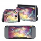 Cloudy Sky design decal for Nintendo switch console sticker skin