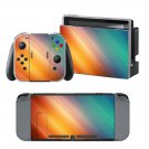 Color Rains design decal for Nintendo switch console sticker skin