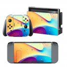 Water drops design decal for Nintendo switch console sticker skin