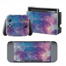 Diamond design decal for Nintendo switch console sticker skin