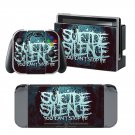 Suicide Silence design decal for Nintendo switch console sticker skin