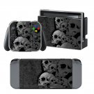 Broken Skulls design decal for Nintendo switch console sticker skin